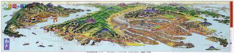 Birds Eye View Maps Bird U0027s Eye View Maps Of Cartographer Hatsusaburo Yoshida Spoon