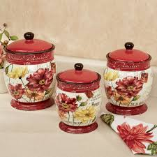 Kitchen Canisters Ceramic Tuscan Kitchen Canisters How To Achieve The Elegant Tuscan Style