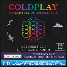 coldplay album 2017 coldplay coming to san diego 91x fm