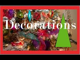 How To Decorate A Christmas Tree Garlands Ribbons And Bows On A Christmas Tree Christmas
