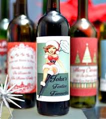 Wine Christmas Gifts Personalised Wine Labels Christmas Wine Labels Personalised