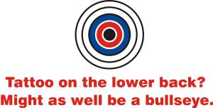 tattoo bullseye poker u0026 chaos store