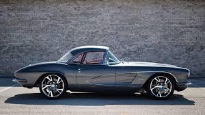 vintage corvette blue 1961 chevrolet corvette resto mod s123 kissimmee 2016