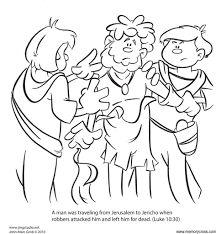 the parable of the good samaritan bible story card by