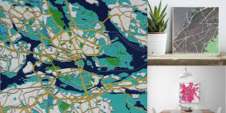 Custom Maps Elevatedmaps Launches To Create Artistic 3d Printed Custom Maps Of