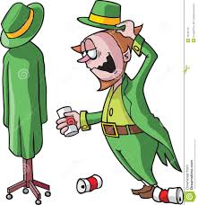 drunk leprechaun royalty free stock photo image 12706715