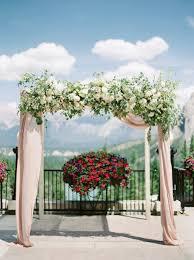 Wedding Arches Calgary Fairmont Banff Springs Wedding Decor U2014 Calgary Wedding
