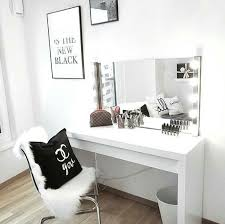 Small Makeup Desk Interior Design Floating Desk Modern Bedroom Vanity Makeup