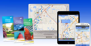map usa route planner aaa travel information services tours vacations flight hotel