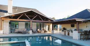Pool Houses And Cabanas Backyard Retreats Patio Builder Houston Outdoor Structures