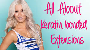 hairstyles for bonded extentions all about keratin bonded hair extensions youtube