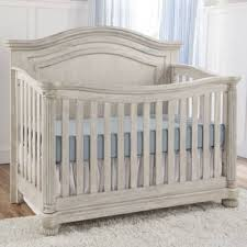 Charleston Convertible Crib Kingsley Charleston Crib In Weathered White Buybuybaby