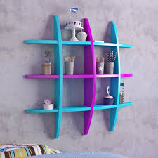 floating globe wall shelves for storage u0026 display skyblue u0026 purple