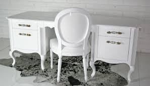 white antique desk freedom to