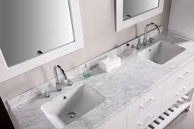 Bathroom Vanities With Tops And Sinks Vanity Top Sink On Right - Bathroom vanity double sink tops