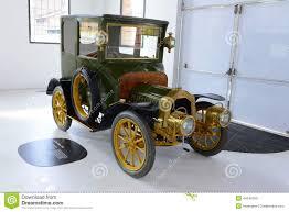 ferrari museum alfa romeo retro car at ferrari museum in modena editorial image