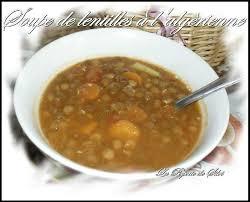 cuisine sans viande soupe de lentilles a l algérienne sans viande la popotte de silvi