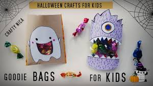 halloween crafts for preschool diy paper bags goodie bags for kids halloween crafts for kids