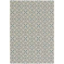 Small Outdoor Rug 4 X 6 Small Spa Blue Indoor Outdoor Rug Finesse Tile Rc Willey