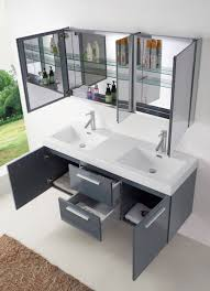 Bathroom Vanity Grey by 54