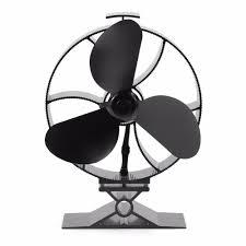 ecofan wood stove fan stove thermometer large airflow heat powered stove fan eco fan