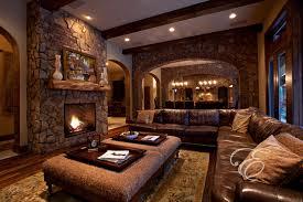tuscan living room design upscale tuscan