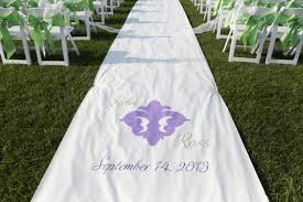 personalized wedding aisle runner outdoor wedding aisle photos chic unique