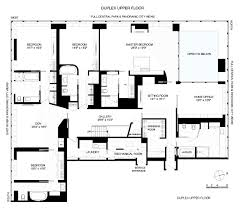 8000 Sq Ft House Plans Floor Plan Steve Cohen In New York City U2013 Variety