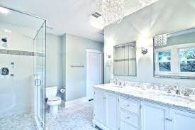 white bathrooms ideas blue and white bathroom ideas excellent awesome chandelier lighting