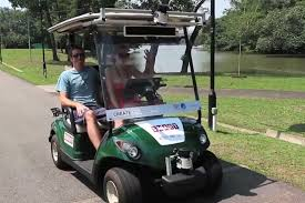 will self driving golf carts steer way for autonomous cars