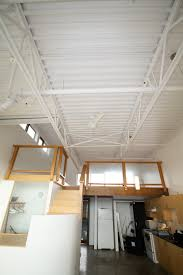 corrugated steel ceiling painted white google search white