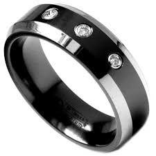 men in black wedding band men s bands elisa ilana