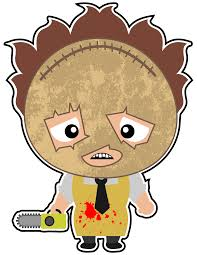 halloween scary clipart leatherface in all his glory one of the scariest movies of all
