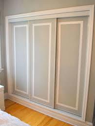 Paint Closet Doors Painting Dated Closet Doors