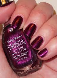 glambunctious review sally hansen diamond strength no chip