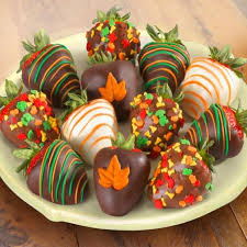 fall chocolate covered strawberries 12 berries acd2035 a