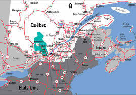 Map Of Montreal Tourisme Laurentides