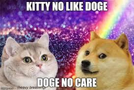 Shibe Meme Maker - heavy breath cat doge kitty no like doge doge no care image