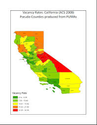Ca Counties Map Creating County Level Statistics From Public Use Microdata Areas
