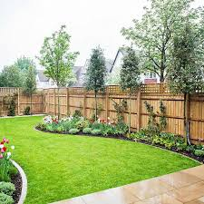 Ideas Garden Steve S Favorite Fence Replace Top Trellis With Horizontal