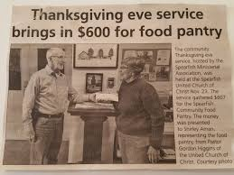 donate food for thanksgiving spearfish community food pantry 2016