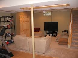 Partially Finished Basement Ideas Brilliant Partially Finished Basement Ideas Partially Finished