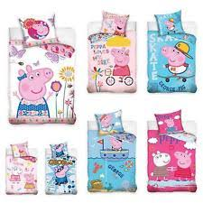 Peppa Pig Bed Set by Peppa Pig 100 Cotton Home Bedding For Children Ebay