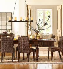 pottery barn buffet table pottery barn dining room buffet brown leather upholstered chairs
