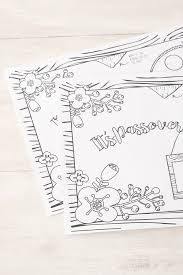 coloring placemats passover coloring placemats chai home the shop