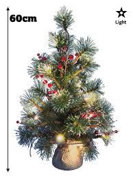 drop down christmas lights mini pre lit christmas tree 75cm 60cm 45cm 2ft decoration led light