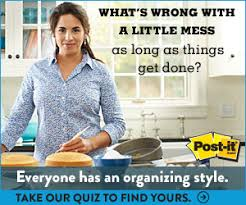 Find Your Home Decorating Style Quiz Post It What U0027s Your Organizational Style Quiz