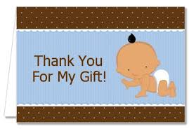 thank you cards for baby shower baby shower thank you cards baby boy hispanic thank you notes