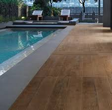 modern ideas pool deck tile tasty porcelain wood look tiles 2