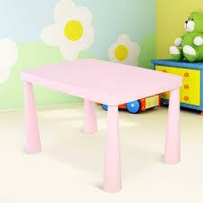 bureau plastique enfant enfants table enfants portable en plastique activité à manger table